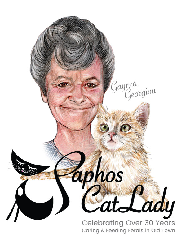 Gaynor Georgiou - Celebrating Over 30 Years caring for Old Town Paphos Cats